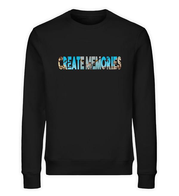 Create Memories - Organic Sweater - TSCB - Unisex Organic Sweatshirt-16