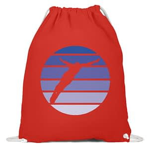 Diver Sun - Organic Gym Bag - TSCB - Baumwoll Gymsac-6230