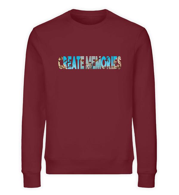 Create Memories - Organic Sweater - TSCB - Unisex Organic Sweatshirt-6883