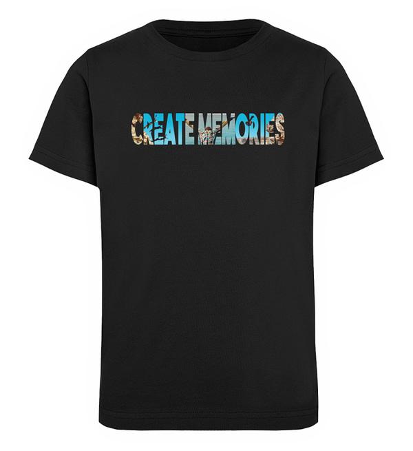 KIDS - Create Memories - Organic Shirt - Kinder Organic T-Shirt-16