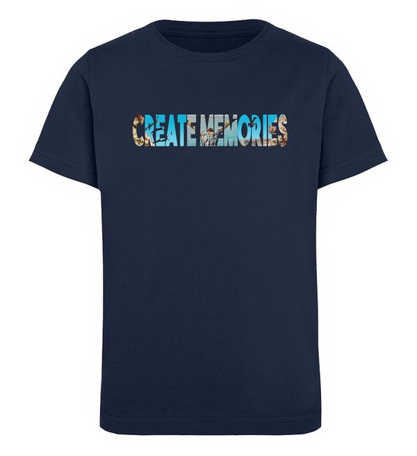 KIDS - Create Memories - Organic Shirt - Kinder Organic T-Shirt-6887