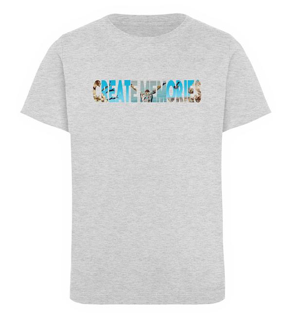 KIDS - Create Memories - Organic Shirt - Kinder Organic T-Shirt-6892