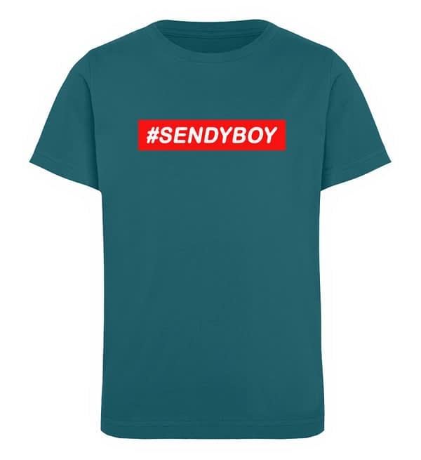 KIDS - #SENDYBOY - Organic Shirt - TSCB - Kinder Organic T-Shirt-6889