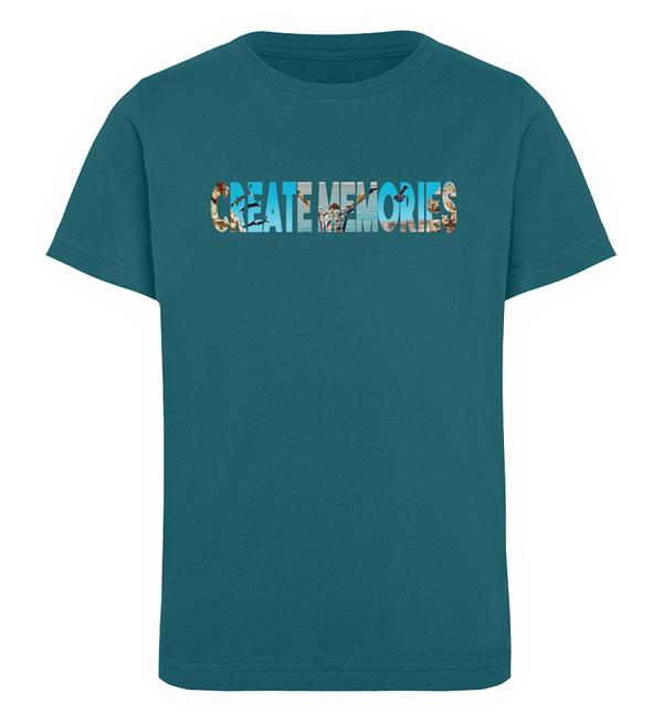 KIDS - Create Memories - Organic Shirt - Kinder Organic T-Shirt-6889