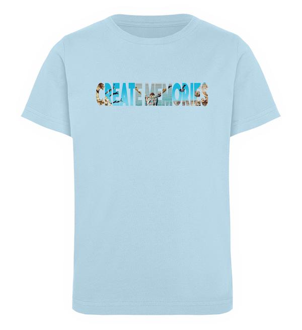 KIDS - Create Memories - Organic Shirt - Kinder Organic T-Shirt-6888